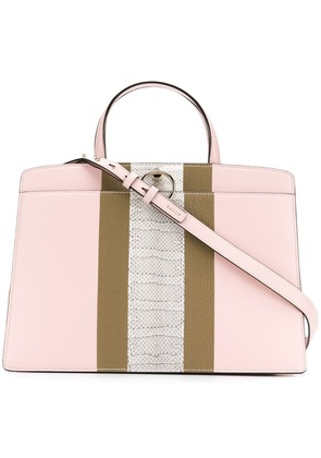 Bally structured tote bag - Pink