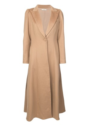Co Full Length Coat - Brown