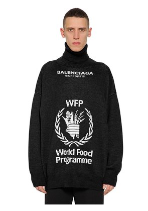 WORLD FOOD PROGRAM WOOL SWEATER