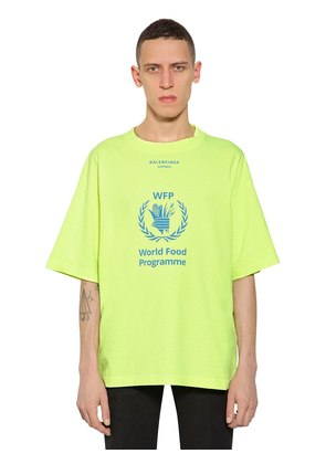 OVERSIZED WORLD FOOD PROGRAM T-SHIRT
