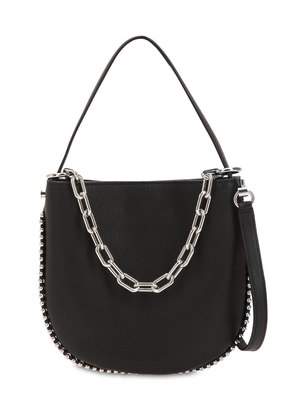 MINI ROXY LEATHER HOBO BAG