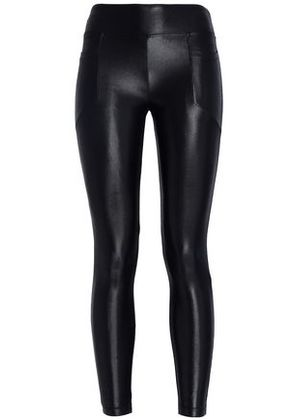 Koral Woman Magnify Coated Stretch Leggings Black Size S