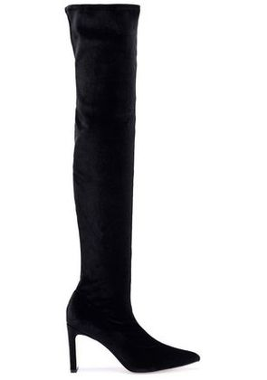 Sigerson Morrison Woman Velvet Over-the-knee Boots Black Size 7