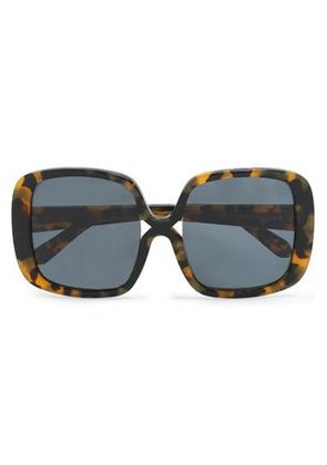 Karen Walker Woman Square-frame Tortoiseshell Acetate Sunglasses Brown Size -