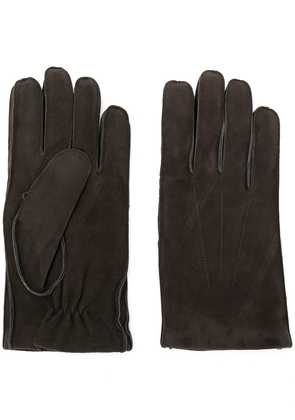 Orciani textured gloves - Grey