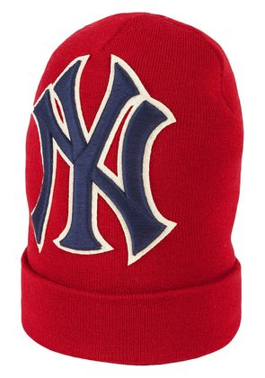Gucci Wool hat with NY Yankees™ patch - Red