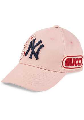 Gucci Baseball cap with NY Yankees™ patch - Pink & Purple