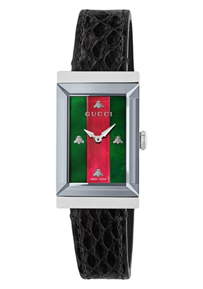 Gucci G-Frame watch, 21x40mm - Black