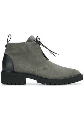 Giuseppe Zanotti Design lace-up ankle boots - Green