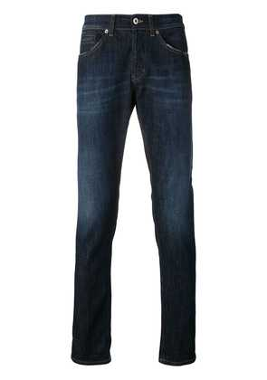 Dondup faded straight leg jeans - Blue