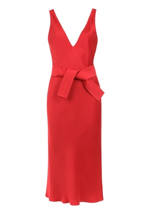 Gloria Coelho midi dress - Red