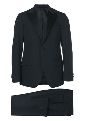 Doppiaa slim-fit dinner suit - Blue