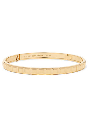 Boucheron - Quatre Clou De Paris 18-karat Gold Bangle - L