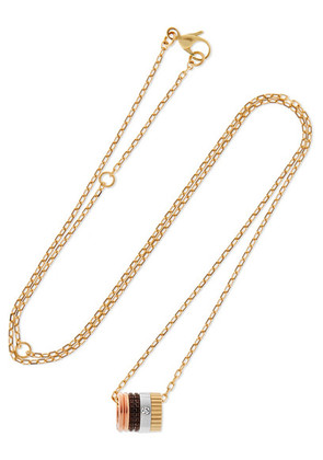 Boucheron - Quatre Classique 18-karat Gold Diamond Necklace - one size