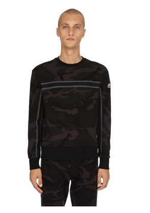 CAMO COTTON SWEATSHIRT