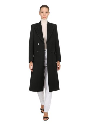 JOLEEN DOUBLE BREASTED WOOL COAT