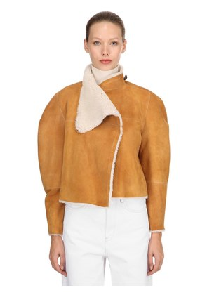 ACACIA REVERSIBLE SHEARLING JACKET