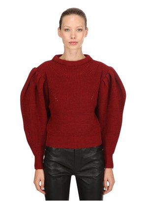 BRETTANY WOOL KNIT SWEATER