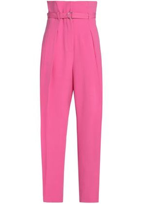 3.1 Phillip Lim Woman Belted Crepe Wide-leg Pants Pink Size 2