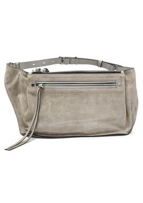Rag & Bone Woman Ellis Suede And Leather Belt Bag Stone Size -