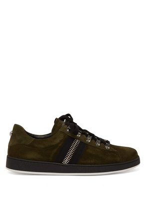 Eric low-top suede trainers