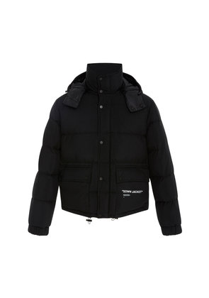 Off-White c/o Virgil Abloh Printed Down Puffer Jacket