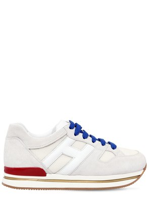50MM H222 SUEDE & LEATHER SNEAKERS