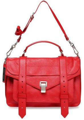 Proenza Schouler Woman Ps1 Leather Shoulder Bag Red Size -