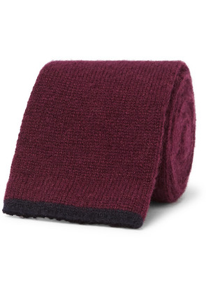 6.5cm Knitted Cashmere Tie