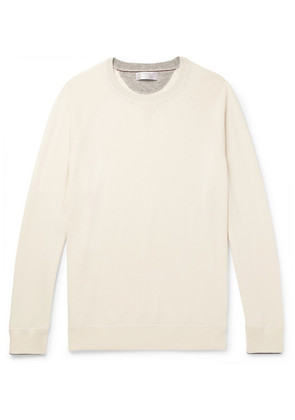 Contrast-tipped Cashmere Sweater