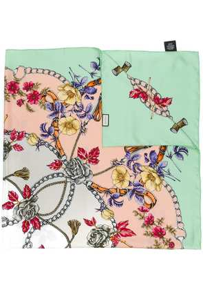 Gucci floral print scarf - Green