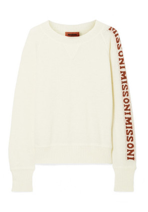 Missoni - Intarsia Knitted Sweater - Cream