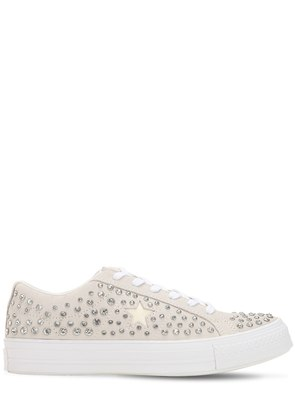 OPENING CEREMONY ONE STAR SUEDE SNEAKERS