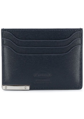 Tod's classic shaped cardholder - Blue