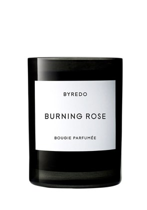240GR BURNING ROSE - SCENTED CANDLE