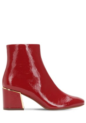 65MM JULIANA NAPLACK ANKLE BOOTS