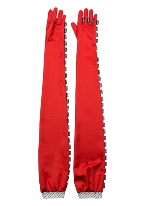Maison The Faux Mr/Mrs Brody gloves - Red
