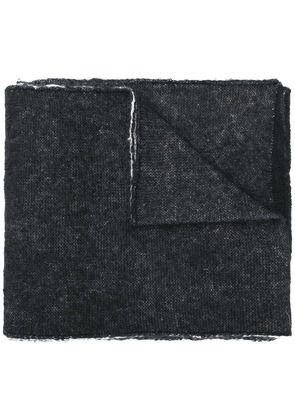 Marni block colour scarf - Black