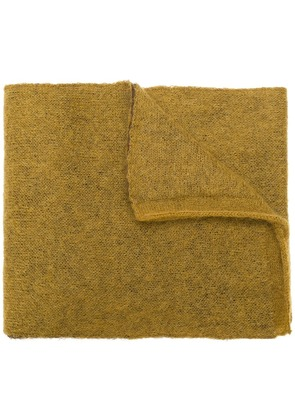 Marni block colour scarf - Brown