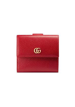 Gucci French flap wallet - Red