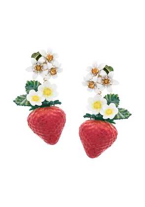Dolce & Gabbana pendant earrings - Red
