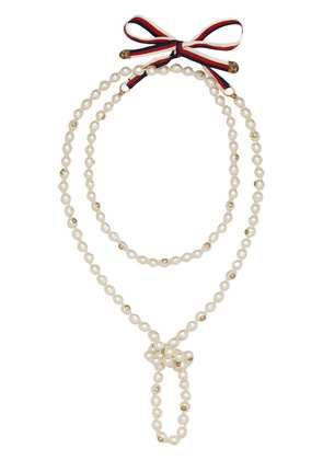 Gucci Pearl necklace - White