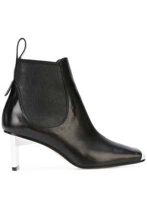 Loewe square toe ankle boots - Black