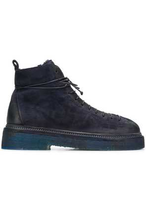 Marsèll lace up ankle boots - Blue