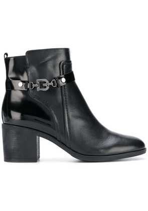 Geox side buckle boots - Black