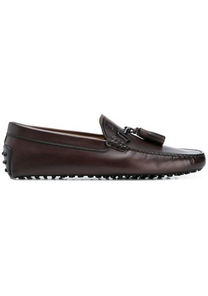 Tod's driving loafers - Brown