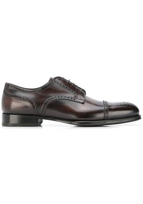 W.Gibbs classic brogues - Brown