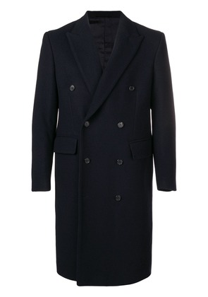 Golden Goose Deluxe Brand double-breasted fitted coat - Blue