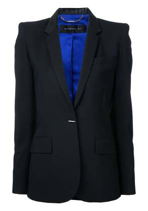 Barbara Bui flap pockets fitted blazer - Black