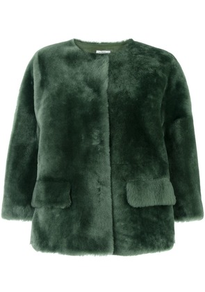 Desa 1972 Merinillo fur jacket - Green